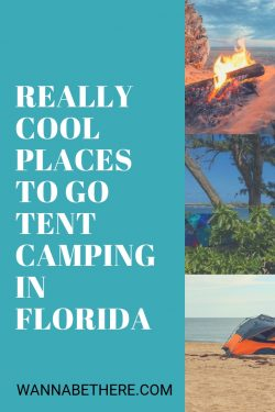 tent camping in florida