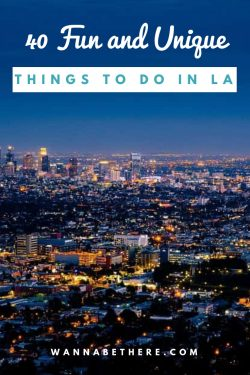 unique things to do in la