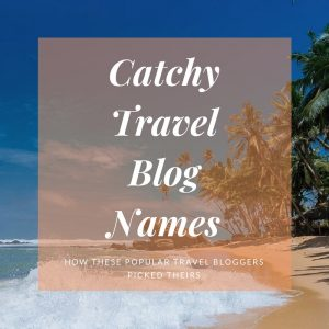 travel blog names