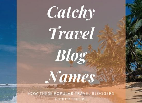 travel blog names