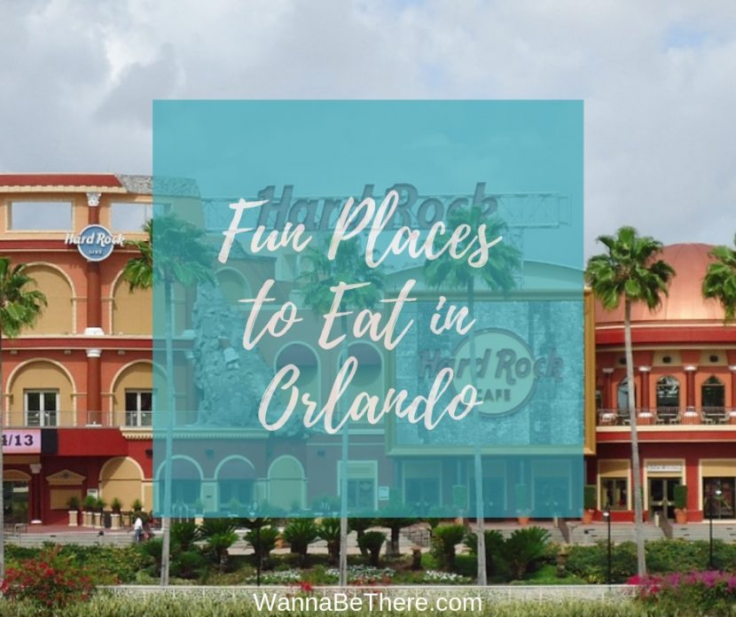 fun places to eat in orlando